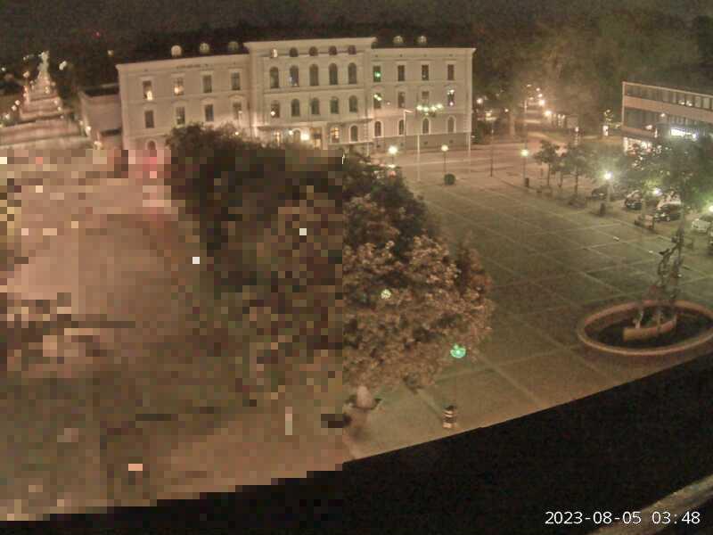 Webkamera - Mariestad, Nya torget