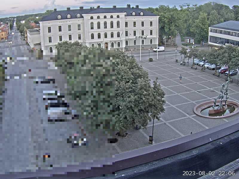 Webcam Mariestad, Mariestad, Västergötland, Schweden